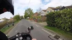 Old man on his Old Motorcycle getting pissed at know it all's
