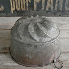 FRENCH METAL MOULD, £30.00
