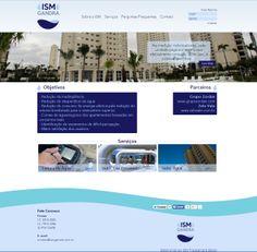 #website   Seu site com um layout exclusivo e conteúdo gerenciável. Confira as vantagens dessa tecnologia acessando: www.esgpropaganda.com.br  Cliente: http://www.ismgandra.com.br/