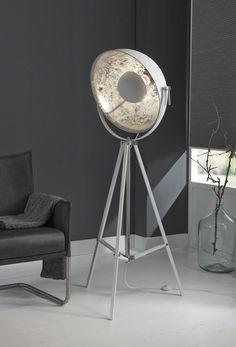 Woon vloerlamp 1L 3-poot wit kopen - UW-Woonwinkel.nl   249 Euros