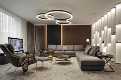 Is a Modern City Retreat for a Young Family in Bulgaria - Home Design Room Interior Design, Living Room Interior, Living Area, Living Spaces, Deco Addict, Red Rooms, Modern City, Cozy Place, Drawing Room