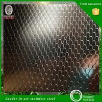 China top ten selling products embossed stainless steel bead blast colored stainless steel plates for solar energy