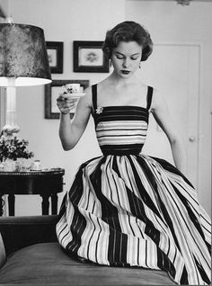 1953  Couture dress