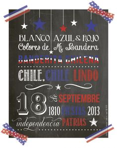 Felices fiestas patrias ¡Viva Chile! - Taller de Papel Diy And Crafts, Paper Crafts, World Thinking Day, National Holidays, Ideas Para Fiestas, Decorating On A Budget, Stencils, Projects To Try, Food Truck