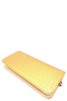 Gold Textured Wallet  #DiscountedPalace #ZipAround