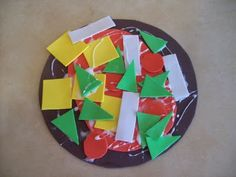 Shapes Pizza...Awesome idea for reviewing shapes!
