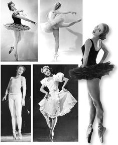Prima Ballerinas: Maria Tallchief, Marjorie Tallchief, Yvonne Chouteau, Moscelyne Larkin, and Rosella Hightower