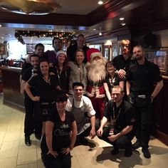Our staff at Breakfast with Santa