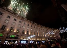 The #RegentStreet #Christmas Lights Switch On was followed by a spectacular display of fireworks.