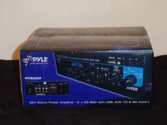 Ending soon only $25 Pyle PTAU23 2 Channel Power Amplifier #Pyle
