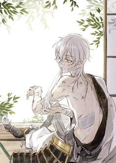 Tsurumaru kuninaga | Touken Ranbu