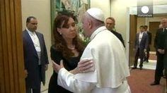 El Papa Francisco recibió a Cristina Fernández en el Vaticano