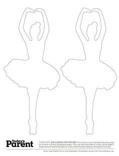 Silueta baletka