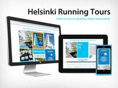 Helsinki Running tours solution by #iwa #labs. #webkehitys #mobiilikehitys