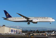 Saudia - Saudi Araian Airlines HZ-ARA Boeing 787-9 Dreamliner aircraft picture