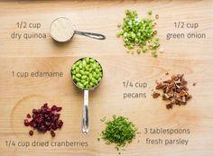 Intern Quinoa Salad   LaughterandLemonade.com