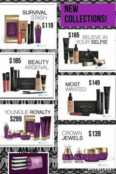 All of our new collections starting September 15, 2016  Youniqueproducts.com/briannam