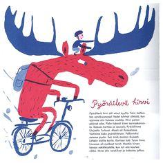 Children's book Makkara piruetti | illustrated by Matti Pikkujämsä
