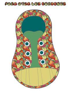 ✿ Dibujos a color y para colorear de plantillas para aprender a Atar los zapatos . Para ver las imágenes en grande haz clic sobre ellas...
