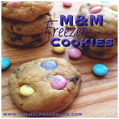 Versatile Freezer Cookies  #sweettreats #sweets #desserts #treat #treats