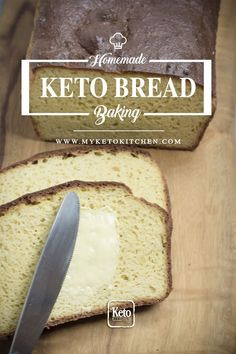 Keto Bread Recipe New & Improved The Best by Far! via Keto Bread Recipe New & Improved The Best by Far! via My Keto Kitchen - Ketogenic Low Carb and Gluten Free Recipes Keto Foods, Ketogenic Recipes, Keto Snacks, Induction Recipes, Keto Meal, Keto Biscuits, Keto Pancakes, Cookies Et Biscuits, Keto Bagels