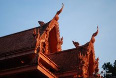 The red temple, Lamai Beach, Koh Samui