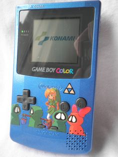 Gameboy Color custom paint Legend of Zelda by HoshizakiCubeStar. $75.00