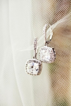 I want these to be my earrings on my wedding day