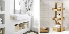 TRIVSEL PÅ BADET: Alle rom ser hyggeligere ut når det er ryddig. Også badet.