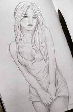 ★★★ Visit the Link to Learn Pencil Drawing Pencil Drawings Of Girls, Hipster Drawings, Realistic Pencil Drawings, Pencil Sketch Drawing, Sexy Drawings, Body Drawing, Cool Art Drawings, Art Drawings Sketches, Figure Drawing