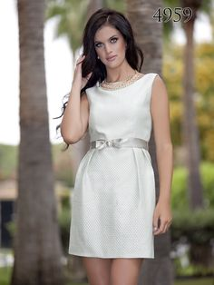 Primavera/Verano 2015 White Dress, My Style, Dresses, Fashion, Spring Summer 2015, Sweet, Party, Vestidos, Moda