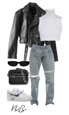"""""""#954"""" by blendingtwostyles ❤ liked on Polyvore featuring Jean-Paul Gaultier and Alexander Wang"""