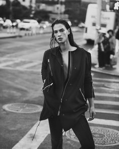 Crista Cober at Next Models is the stunning face fronting the new All Saints Fall 2013 Campaign, photographed by Nick Dorey. The campaign was styled by Caroline Newell. Shop All Saints