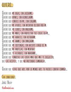"""B1 - Expresar deseos con Subjuntivo: """"Quiero que + [otro sujeto] + Presente de Subjuntivo."""