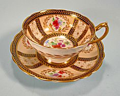 Rare Paragon Queen Mary Service Cup and Saucer Robinson. Click on the image for more information.