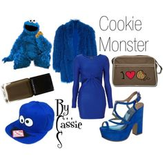 """Cookie Monster"" by lilcassie7 on Polyvore"