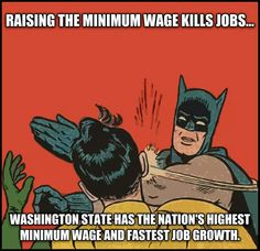 Truth be told...  (When people have more income, they buy homes and cars and other things that pumps more $ into the economy and brings in more tax revenues.  It creates a stable economy and society.  But the Repugs keep pushing for poverty wages and trickle down economics.  Idiots!)
