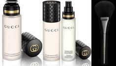 #Gucci skincare and brushes