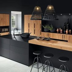 Cuisine Design haut de gamme meubles allemand et français sur mesure – Cuisine … - Cuisine Design haut de gamme meubles allemand et français sur mesure – Cuisine … - Kitchen Room Design, Home Decor Kitchen, Interior Design Kitchen, Modern Interior Design, Kitchen Furniture, Kitchen Ideas, Coastal Interior, Kitchen Trends, French Furniture