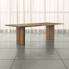Gather around a kitchen or dining table from Crate and Barrel. Browse a variety of dining room tables from formal to casual. Order tables online.