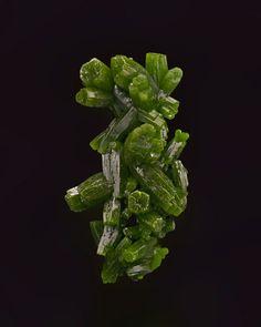 Pyromorphite - Les Farges Mine, Ussel, Correze Province, France Size: 4.2 x 2.3 cm