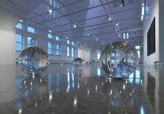 Ryan Gander, as part of 2009 group exhibition Several Silences at The Renaissance Society.