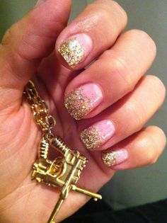 gold gel nails ideas Gel Nail Designs Ideas 2013 @Tracy Stewart Gardiner love these