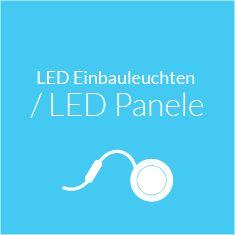 LED Einbauleuchten / LED Panele