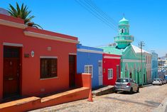 Things to do in Cape Town - Bo Kaap Mosque Cape Town Stuff To Do, Things To Do, Cape Town, The Neighbourhood, Around The Worlds, Mansions, House Styles, Bucket, Mosque