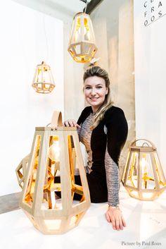 """Lamp """"zuid"""" - francoise oostwegel"""