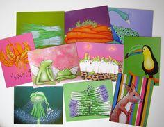 Auf Grund der häufigen Nachfrage habe ich nun Postkarten von meinen Malereien drucken lassen. Hierbei handelt es sich um ein 10er Set bestehend aus...