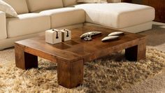 Wooden coffee tables add style and character to a room. Description from buyuniquegifts.net. I searched for this on bing.com/images