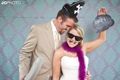 If you've been to a wedding recently, there's a good chance you've seen or even taken photos in a wedding photobooth. This fun trend has been on the rise as weddings around the country, and contrary to popular belief, they don't have to be as expensive as you think! {Photo via JoPhoto} Unfortunately