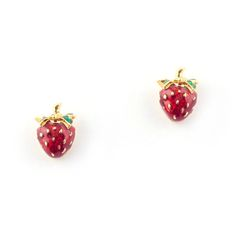 Bill Skinner Strawberry studs. £30